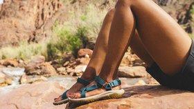 Sportovní sandály jen do přírody? To už dávno neplatí! Tyhle jsou pohodlné a mají styl