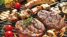 Přes 30 skvělých receptů na gril: Maso, zelenina i sýry. A k tomu ty nejlepší marinády!