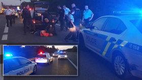 Čech (44) ukradl auto a ujel na Slovensko: Policisté ho zastavili střelbou!