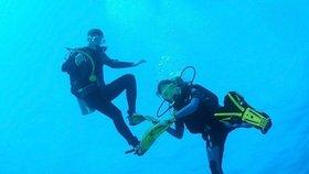 Smrt českého potápěče (†60) v Řecku: Neměli zkušenosti ani potřebné vybavení, zlobí se záchranář