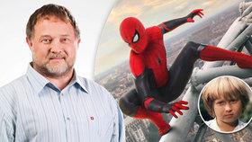 Létající Čestmír alias Lukáš Bech (46) znovu v akci: Zahrál si v novém Spider-Manovi!