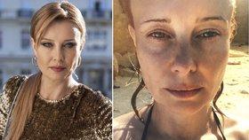 Jindy elegantní Schneiderová ukázala pravou tvář! Obstojí i bez make-upu?