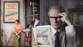 """Florencino knihkupectví: """"Za roli jsem dostal tři flašky,"""" přiznal Blesku hvězdný Bill Nighy"""