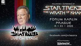 Kapitán Kirk přiletí rychlostí warpu do Česka. Hvězda Star Treku William Shatner vystoupí v Praze