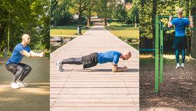 """Cvičit můžete i v přírodě: 5 tipů jak mít """"vysekané"""" tělo jako Adonis"""