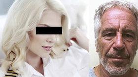 Sexuální orgie a otroctví! Školačku Naďu si koupil miliardář Epstein od rodiny