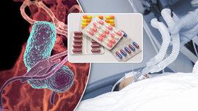 """Zákeřná bakterie se šíří v nemocnicích! Nepomáhají ani """"nouzová"""" antibiotika, přiznali bezradní vědci"""