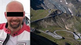 Motorkář Lukáš (†40) se v Rakousku zřítil ze srázu: Přátelé založili sbírku na pomoc pozůstalým