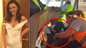 Studentka (†19) vyskočila z letadla vstříc smrti: Kamarádka ji neudržela