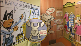 Za dobrodružstvím byli i v Praze: Hravá výstava připomíná půl století příhod Čtyřlístku