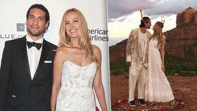 Čtvery zásnuby, napopáté svatba! Petra Němcová se tajně vdala! Mystika v poušti