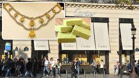 """""""Princezna"""" ukradla v Paříži šperky za 41 milionů. Vyměnila je za kostky bujónu"""