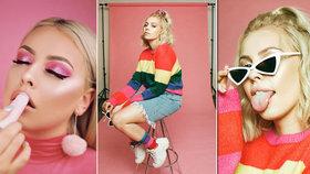 Vtipná a šílená »ANY« poladí instagram Blesku: Youtuberka pomáhá s líčením možná i vašim dcerám