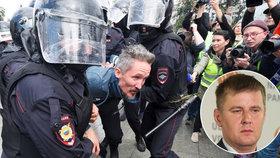 Petříčkův úřad se obul do Rusů: Nelíbí se mu masové zatýkání demonstrantů
