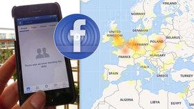 Facebook a Instagram měly rozsáhlý výpadek: Postihl i Čechy