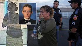 Střelci z obchoďáku v El Pasu hrozí trest smrti. Vyšetřují ho jako teroristu