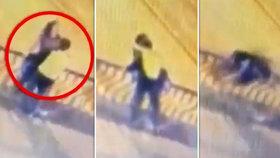 Šílenou smrt milenců zachytila kamera: Při vášnivém líbání se zřítili z mostu!