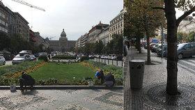 Lepší a čistější Václavské náměstí? Parta místních s Prahou 1 testují pilotní projekt