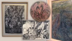 Pošmourný svět dvou generací. Galerie U Betlémské kaple zve na dva nadané autory, které dělí půl století