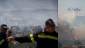 Řecko a Kanáry pustoší desítky lesních požárů. Turisté prchají z hotelů i kempů