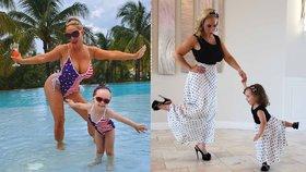 Matka jako dcera! Tříletá dcera sexbomby Chanel nosí to samé, co její maminka