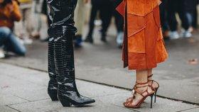 Jaké boty teď frčí? Přesně tyhle budete potřebovat na přelomu léta a podzimu