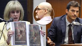 Exmilenku Ashtona Kutchera ubodal sériový vrah: Mariina krev (†32) vypadala jako rozlité víno, popsal herec