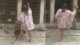 Mladá žena (24) zmlátila chlapce (10) a zamkla do psího kotce: Rozbil mi okénko! hájila se