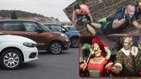 Tipy na víkend: Auta na náplavce, piknik na Ladronce, Hradozámecká noc i závod gladiátorů