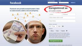 Budeme za facebook platit? Z úvodní stránky nenápadně zmizel důležitý slib