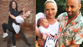 Genzerova tanečnice ze StarDance před měsícem porodila a nyní ukázala synka