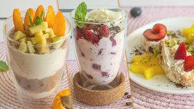Oslaďte si konec prázdnin: 4 recepty na rychlé a nebesky dobré tvarohové dezerty