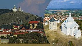 Svatý kopeček v Mikulově: Městečko na dlani!