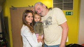 Jako by mu z oka vypadla: Dan Hůlka se pochlubil dcerkou Rozárkou (1,5)