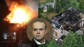 Krejčířův palác v Černošicích opět zůstal na ocet: Po požáru přišla astronomická sleva!