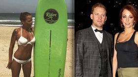 Důvod rozchodu Prachařových? Agáta propálila svého surfaře z Izraele!