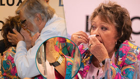 Parádnice Jiřina Bohdalová (88): Ruku jí zdobí luxus za 120 tisíc