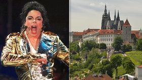 """""""Jsem syn Michaela Jacksona,"""" řekl agresor strážníkům. A pozval je na Pražský hrad"""