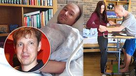 Táta Martin (44) trpí krutou nemocí, zabila i politika Grosse (†45): Pomůžete mu zůstat s rodinou?