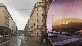 Mělo tu stát Zlaté vejce, ale... Co se stane s nábřežím u Revoluční v centru Prahy?