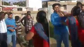 Video: Manželky spráskaly bigamistu jak psa! Prý se chtěl ženit potřetí
