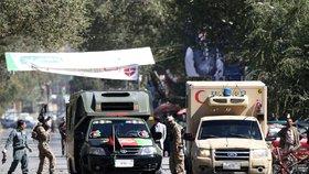 Krveprolití na volebním mítinku. Dvě exploze zabily v Afghánistánu 46 lidí
