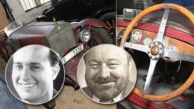 """Klenot s volantem: Tohle je první vůz Jana Wericha! """"Jeníčku, jeď dvě stě,"""" pobízela ho babička"""