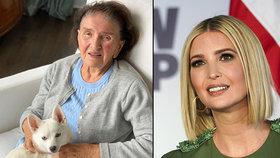 Dojemné přání Ivanky Trumpové babičce Zelníčkové (93): Babi bude vždy první