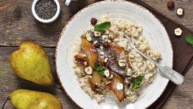 5 zdravých snídaní, které vás na podzim zahřejí a ukojí chutě na sladké
