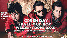 Na Rock for People 2020 přijedou Green Day, Fall Out Boy i Weezer