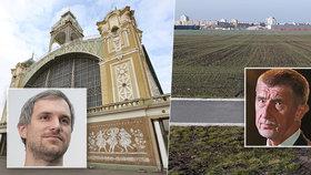 Vzkaz premiéra Andreje Babiše: Prodejte nám pozemky na úřednickou čtvrť nebo… Praha přijde o výstaviště!
