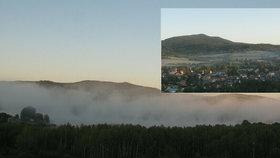 Na Šumavě bylo ráno i šest pod nulou. Mrazivý start soboty byl také na Liberecku