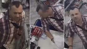 Nakradl si, aby měl na nákup ve večerce: Policisté pátrají po žižkovském zloději z tramvaje