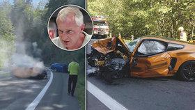 Nehoda Mustangu očima experta: S pocitem nadřazenosti je řidiči jedno, že zabije